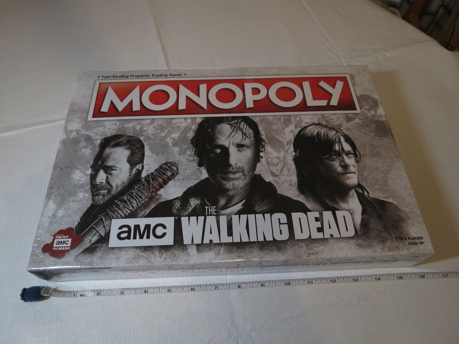 The Walking DEAD Monopoly AMC board game RARE version sealed NEW TV series WD