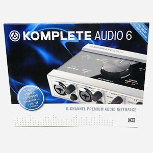 BRAND NEW NATIVE INSTRUMENTS Komplete Audio 6 MK1 USB Audio Interface FREE POST