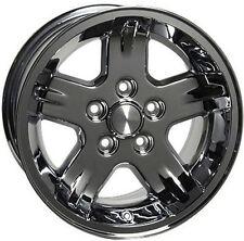 "15"" Wheels For Jeep Grand Cherokee Wrangler 15x8.0 Inch Chrome Rims Set of (4)"