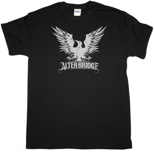 ALTER BRIDGE BLACKBIRD LOGO ALTERNATIVE GUN CREED NEW BLACK T-SHIRT