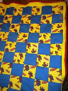 Marvel Spiderman Quilt Toddler Crib Cotton Fleece 6