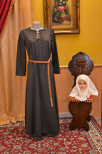 Tunica-Medioevo-Abito-Storico-Costume-di-Scena-Costume-Teatro-Abito-d-039-Epoca-MT06