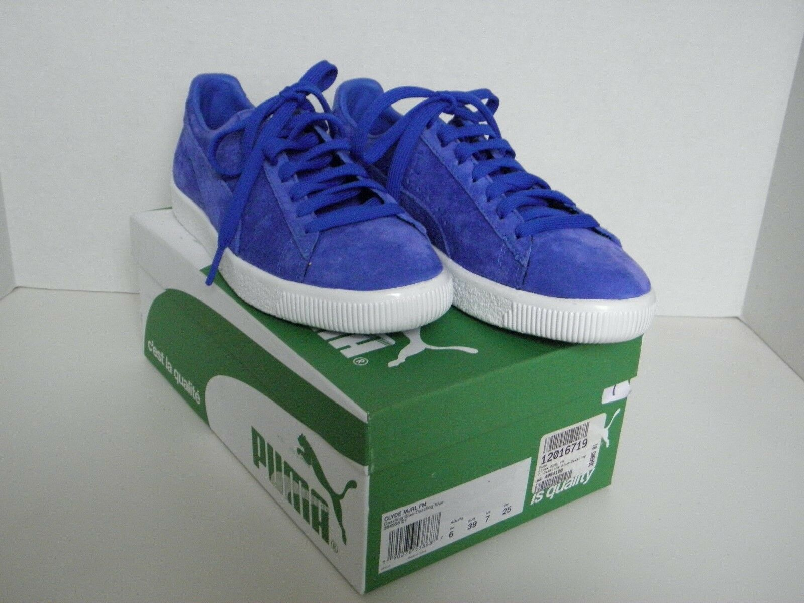 Puma Clyde MJRL FM, Dazzling bluee Dazzling bluee, Size 7, Athletic Sneaker shoes