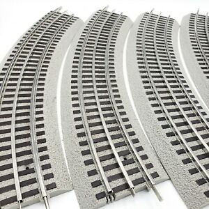 Lionel-FASTRACK-O31-Curved-Track-O-31-Curve-6-37103-LOT-OF-4