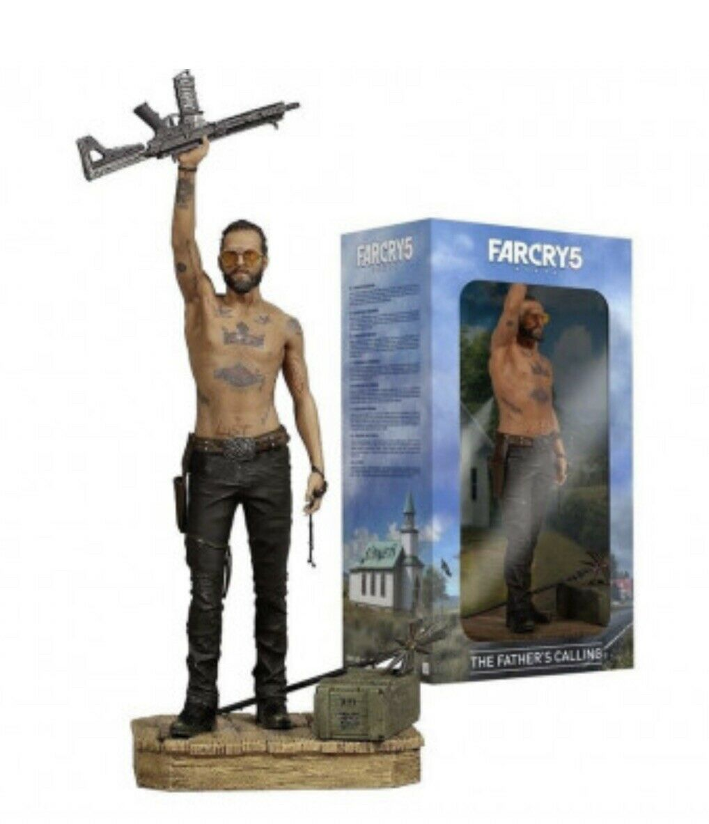 Far Cry 5 The Fathers S Calling Joseph Seed 12 Pvc Vinyl Statue