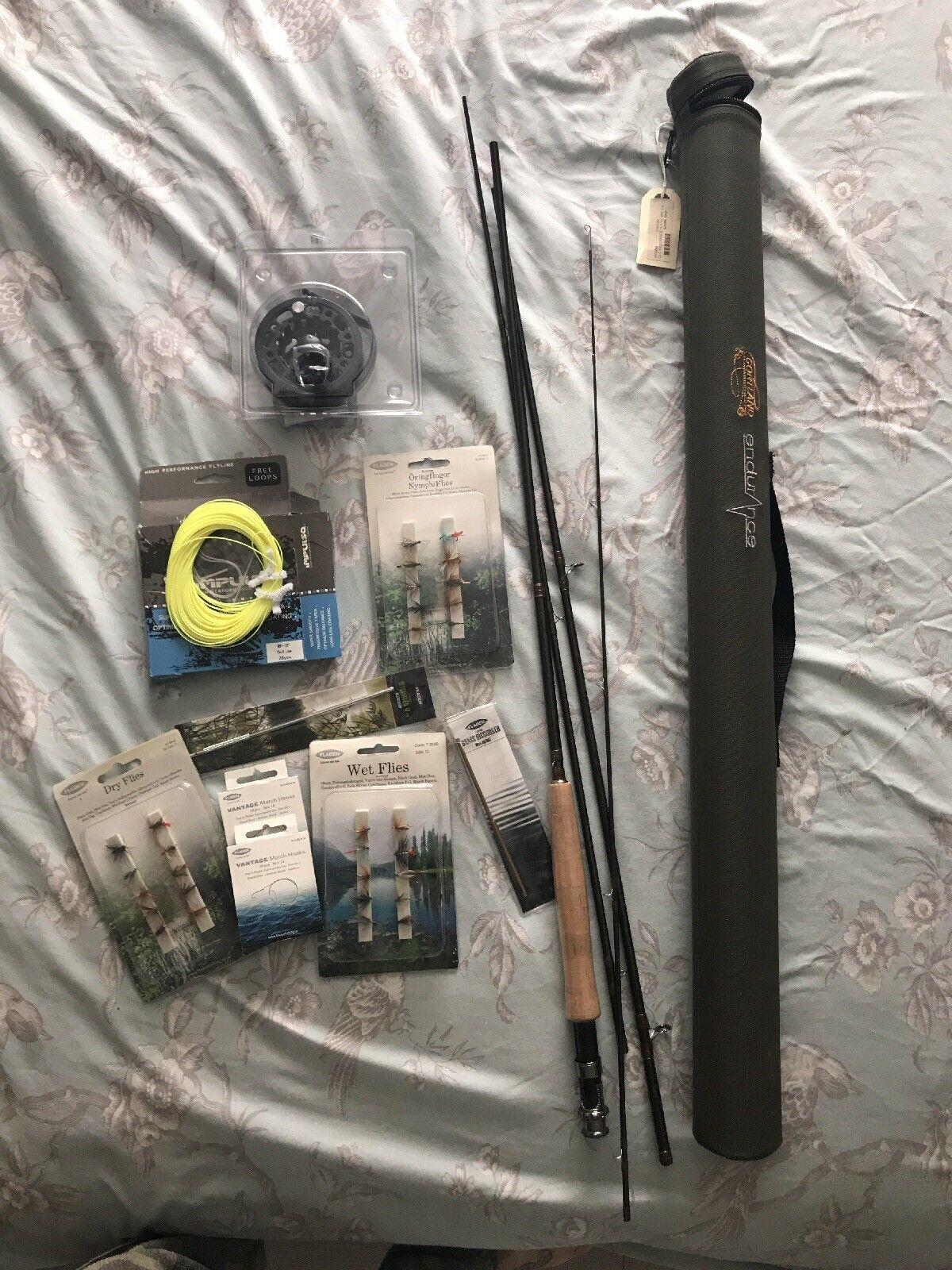 FLY Fishing Rod e accessori