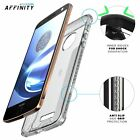 Affinity Shockproof Case for Motorola Moto Z / Moto Z Droid Edition Clear/Clear
