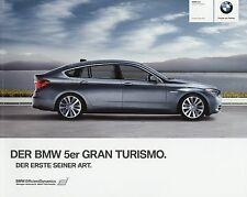 Prospekt BMW 5er Gran Turismo GT 2010 D 0 11 005 357 10 2 brochure Auto PKWs car