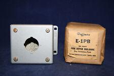 Hoffman - E-1PB Oil Tight Pushbutton Enclosure w/ Grey Hammertone Finish