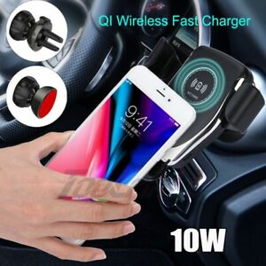 10W-QI-Wireless-Fast-Charger-Car-Mount-Holder-Stand-For-iPhone-X-XS-Samsung-S10