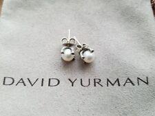 DAVID YURMAN 9.5MM PEARL STUD EARRINGS