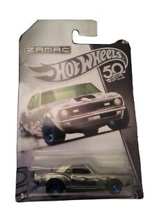 Hot Wheels 2017, 50th, 68 Copo Camaro Zamac