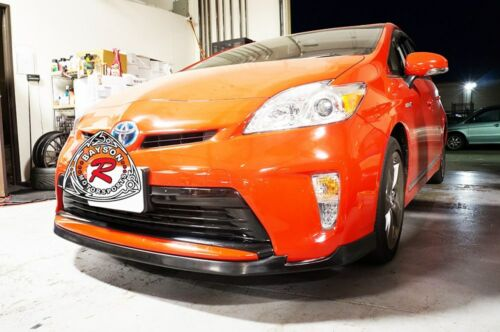 Fits 12-15 Toyota Prius MD-Style Front Lip Urethane Base Model