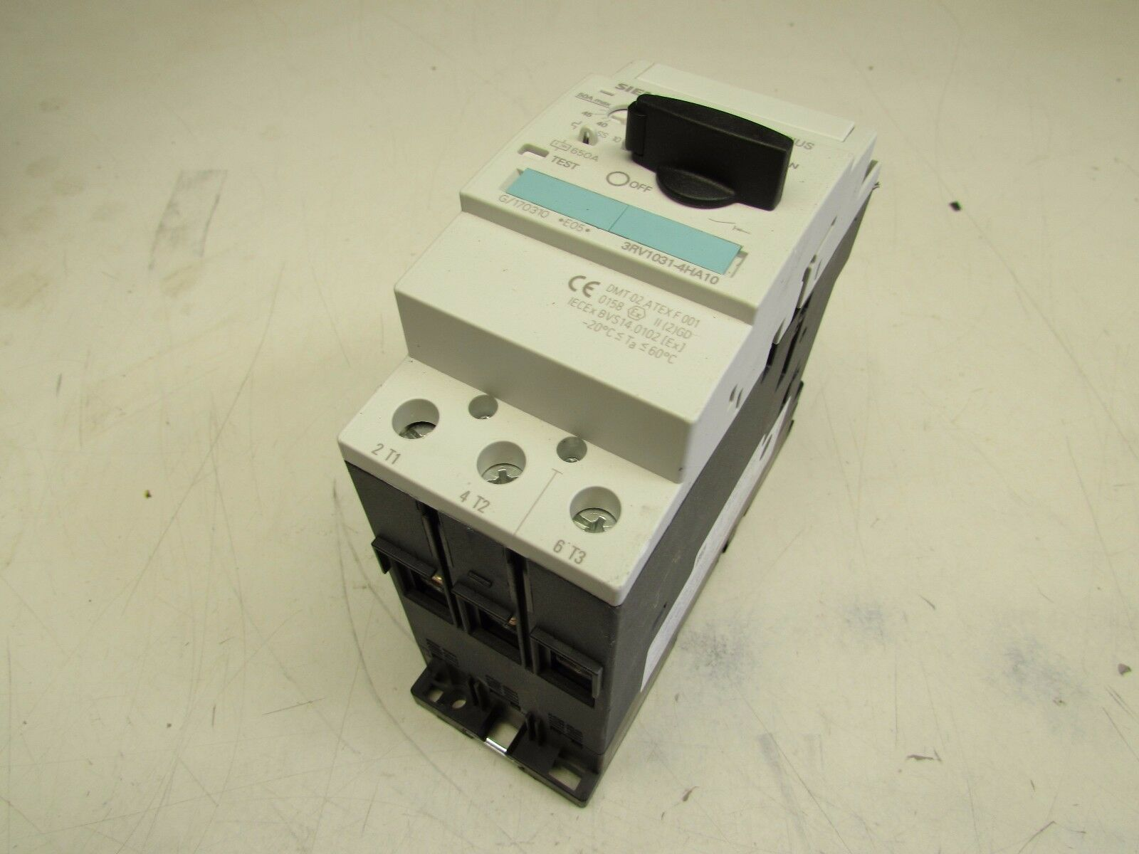Siemens 3RV1031-4HA10 Leistungsschalter 40-50A