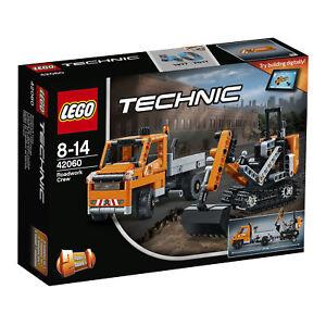 LEGO-TECHNIC-42060-Strassenbau-Fahrzeuge-NEU-OVP