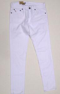 Ralph-Lauren-Jeans-039-RL-SKINNY-039-W27-L31-AU9-US5-UK7-White-NEW-RRP-289-Women-Girls