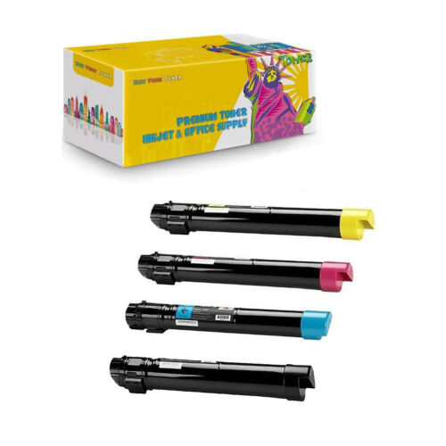 Compatible 006R01403 006R01404 006R01405 006R01406 Toner For Xerox 7755 4PK
