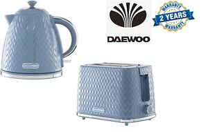 Daewoo Argyle 2 Slice Toaster and 1.7L 3KW kettle Set SDA1823/SDA1822
