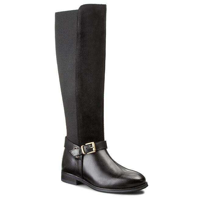 en venta en línea Gant Avery Cuero botas botas botas Rodilla Alto Talla BT04 35  contador genuino