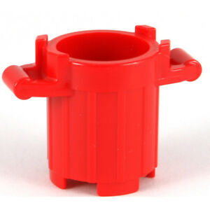 LEGO Green Bin Trash Can x 2 2439