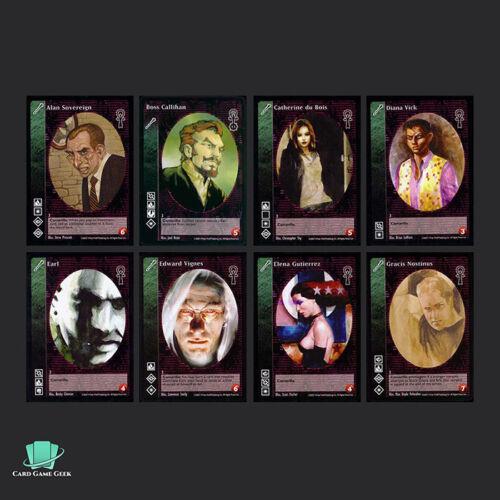 Vampire Eternal Struggle VTES Jyhad 8x Ventrue Vampires G3 A