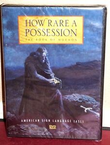 New-How-Rare-a-Possession-The-Book-of-Mormon-DVD-LDS-Parley-Pratt-2009-ASL-Ed