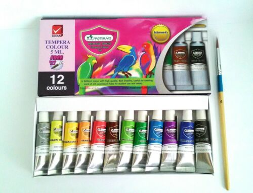 Water Color MasterArt 12 colors Premium Grade