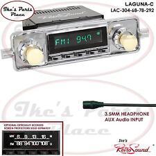 RetroSound LAGUNA-C Radio/3.5mm AUX-In for ipod/Push Button-304-68 VW Bug/Beetle