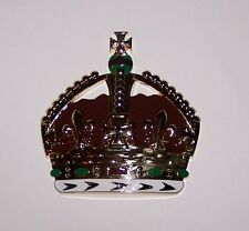 Royal Royalty King Crown Auto Car Hood Motorcycle Emblem Medal Badge Display Art