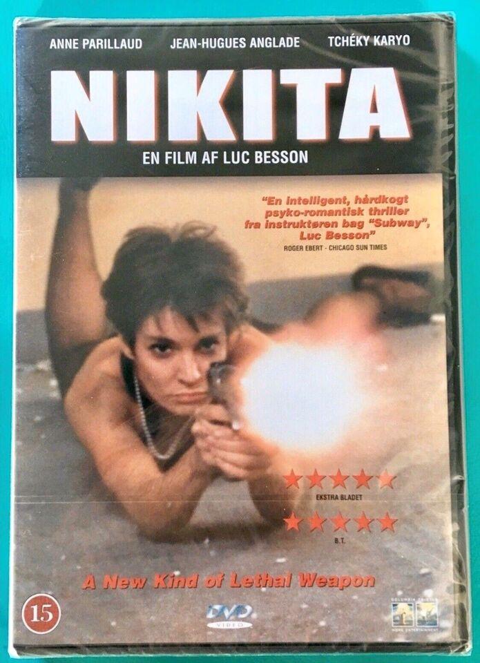 Nikita (Frankrig), DVD, action