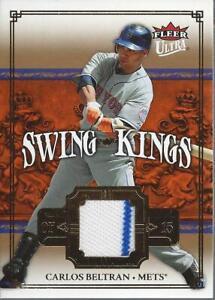 2007-Ultra-Swing-Kings-Materials-CB-Carlos-Beltran-Jersey-NM-MT