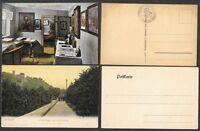 2 Old Germany Postcards - Eisenach