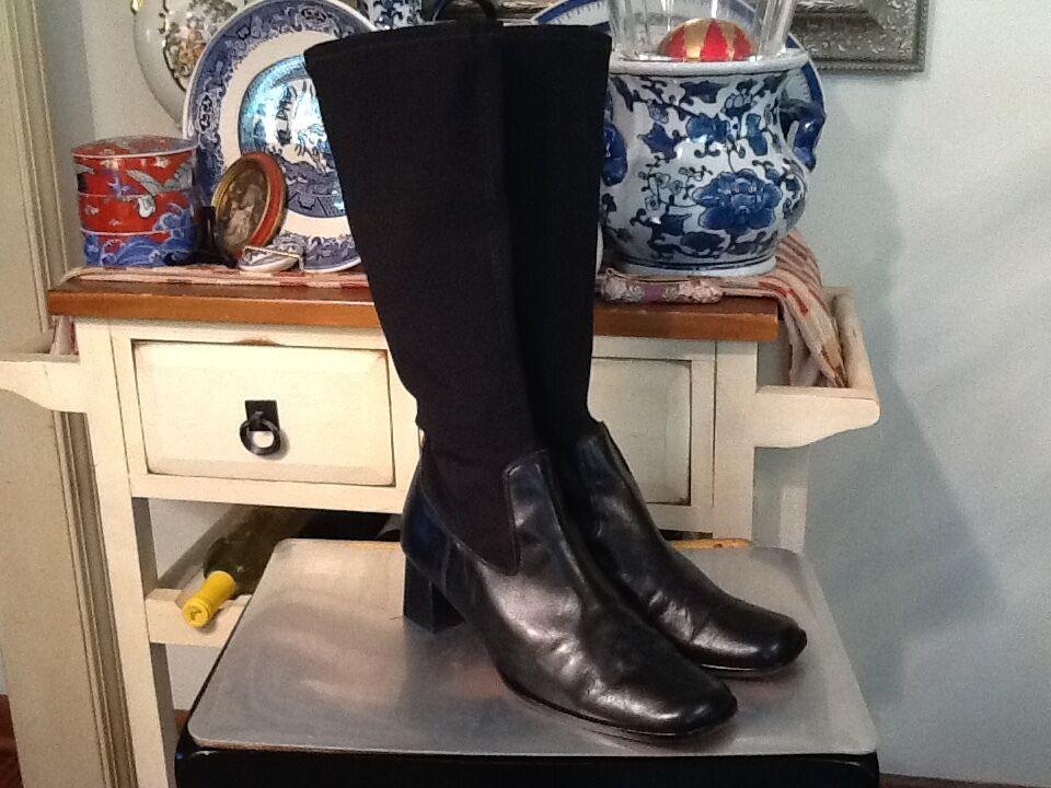 Talbots Harper High Heel Fashion Stiefel Größe 11M Made in