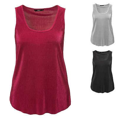 FäHig Only Damen Top Blusentop Bluse Tunika Plissee T-shirt Shirt Color Mix Sale