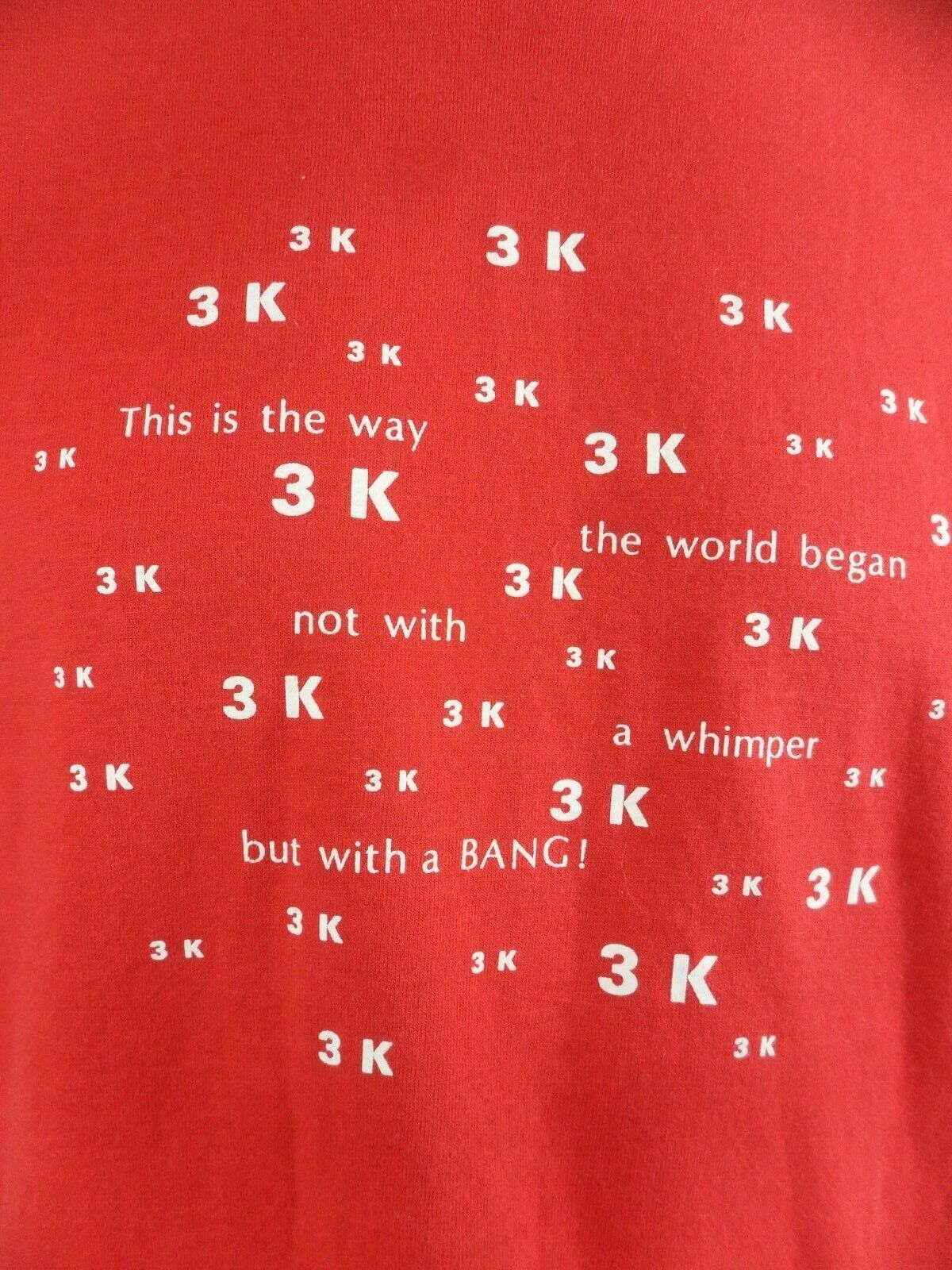 The World Began Not With A Whimper But With A Bang 3K Engineer Big Bang T Shirt