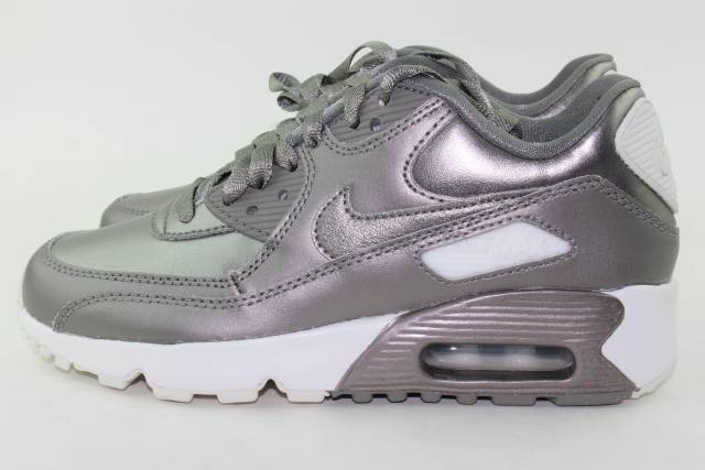 NIKE AIR MAX 90 SE LEATHER SIZE 6.0 Y SAME AS WOMAN 7.5 NEW FASHION STYLE RARE