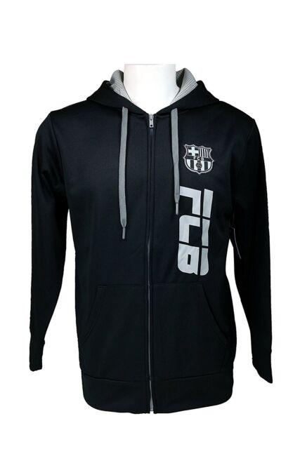 735b5c036d6 FC Barcelona Zipper Hoodie Soccer Adult Sizes Football Official ExLarge  Sports Mem