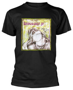 Dinosaur-Jr-039-You-039-re-Living-All-Over-Me-039-Black-T-Shirt-NEW-amp-OFFICIAL