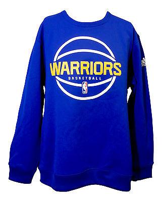 NEW Blue Golden State Warriors 1//4 Zip Hoodie Hooded Sweatshirt MEN 2XL Curry KD
