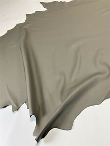 Leather Cowhide Ash Gray Smooth Automotive Home 45 SqFt Upholstery Craft Hide