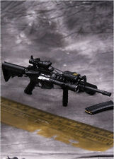 1/6th The US Navy Rivers Troops M4 Rifle Gun Model Elite Weapon MS009 Toys