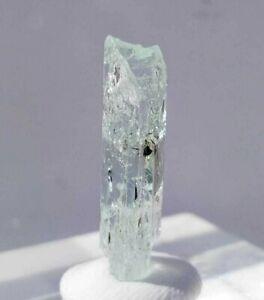 9ct, Natural Clear Terminated Aquamarine Rare Crystal Shigar Pakistan US SELLER