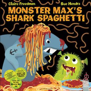 Monster-Maxs-Shark-Spaghetti-Freedman-Claire-Used-Good-Book