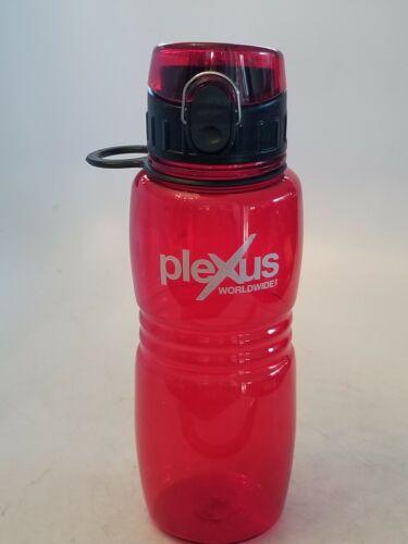 Red 20 oz. Plexus Worldwide Water Bottle