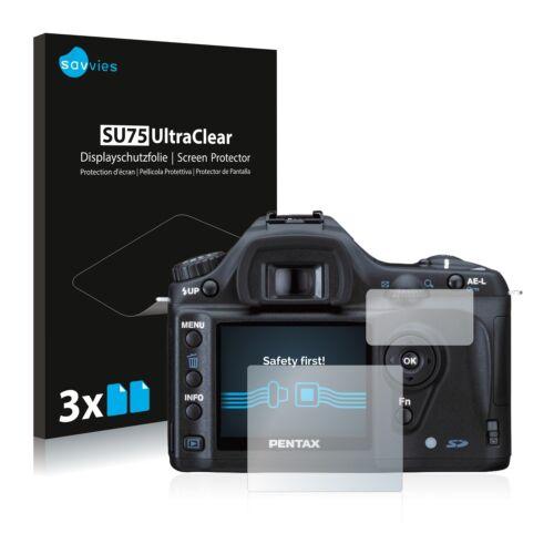 Pellicola di protezione schermo 6x per Pentax ds2 è Chiaro Pellicola Protettiva Pellicola Display Pellicola