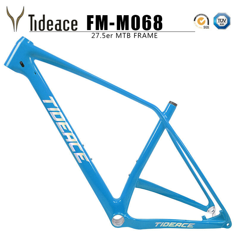 650B Carbon Mountain Bicycle Frames 27.5er Plus 148mm Boost MTB Bike Frameset