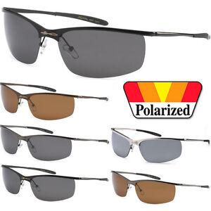 58dc648d2d Image is loading X-Loop-Polarized-Metal-Sport-Designer-Sunglasses-Mens-