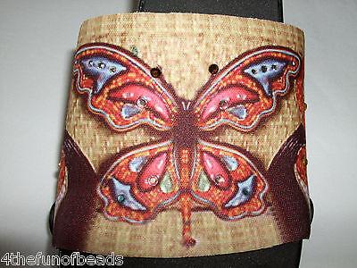 """Onesole Interchangeable Shoe Tops """"Mosaic Butterfly"""""""