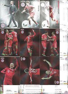 Panin-FC-Bayern-Muenchen-Trading-Cards-2014-zur-Auswahl-Nr-47-86-NEU
