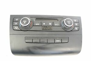 BMW-1-SERIES-E87-118d-2008-RHD-A-C-CLIMATE-CONTROL-SWITCH-PANEL-9199260